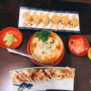 Shu shi ở đây ngon nhắm mà gà cay hơi tệ xíu mọi người ăn shushi đừng ăn phô mai