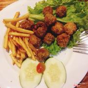 Gà viên khoai tây