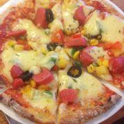 Pizza xúc xích ý
