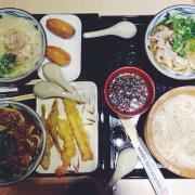 Các loại mì udon trog quán