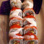 Sushi trứng cá bay 49k