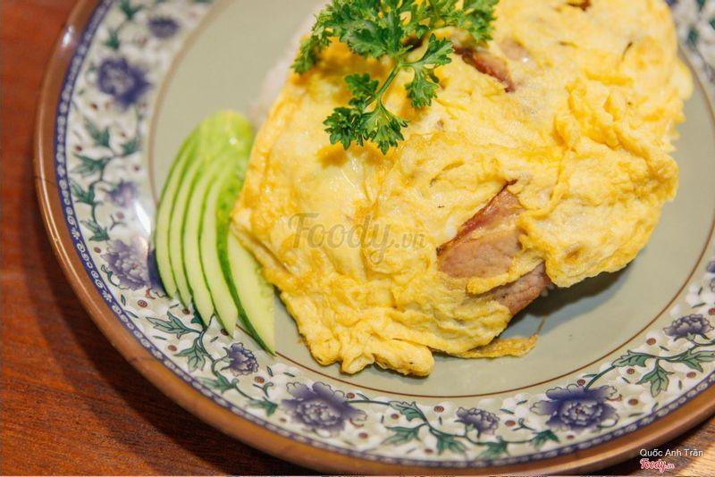 Cơm chiên xá xíu trứng Chu Kee (145k)