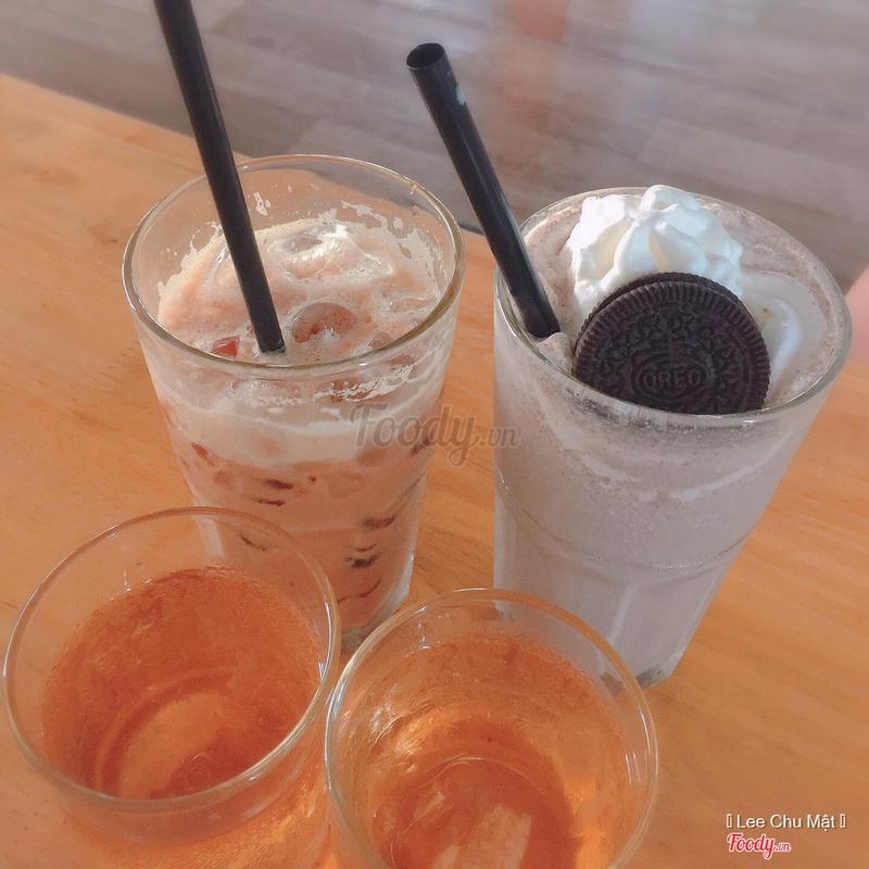 Cafe sữa SG & Cookie đá xay