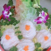 sashimi cá song hổ