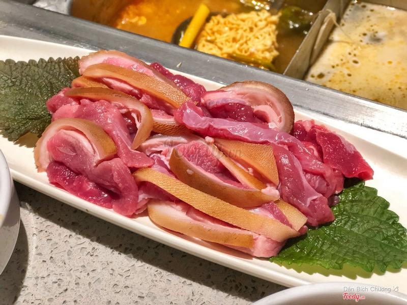 Thịt dê Haidilao
