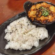 Cơm đậu hủ mè cay (50k)