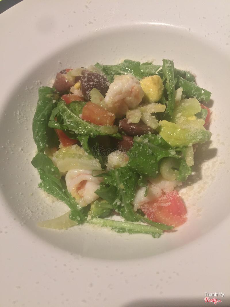 Shrimp Avocado Beans Salad