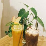 Nước ép cam - táo - sả & Chocolate đá xay