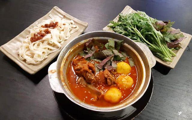 Myeongdong - Mì Sườn Bò Cay Hàn Quốc