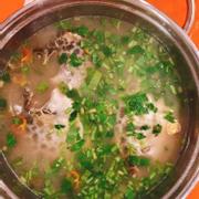 Lẩu cá nâu nấu măng chua