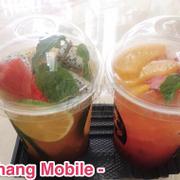 Trà trái cây nhiệt đới và Trà dâu đào