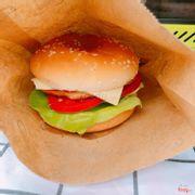 Burger tôm phô mai