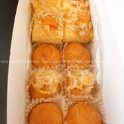 Set No.1: 4 miếng BLTM kẹp + 6 bánh su: kem trứng, phô mai, trứng muối Bộ kit đi kèm: hộp đựng giấy + 2 nĩa