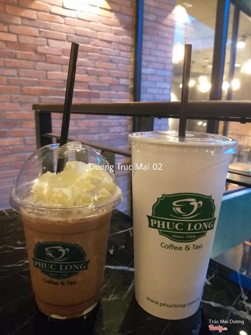 Sôcôla trắng đá xay & Hồng trà sữa