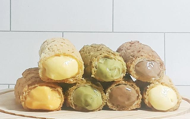 Minchoux - Bánh Su Vỏ Giòn Nhật Bản