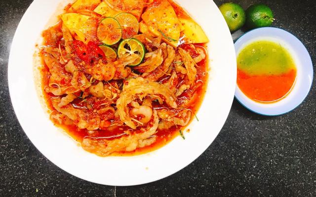 Bếp Mẹ Shin - Chân Gà Sốt Thái & Ăn Vặt