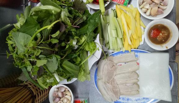 Cô Huế Chợ Cồn - Bánh Tráng Thịt Heo & Mắm Nêm Pha Sẵn