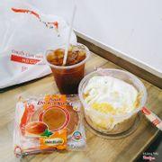 Combo Mì Gói + Trứng Kèm Nước (Trà Chanh)