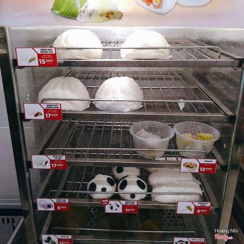 Bánh Bao Gấu Panda - Bánh Bao Cade - Dim Sum