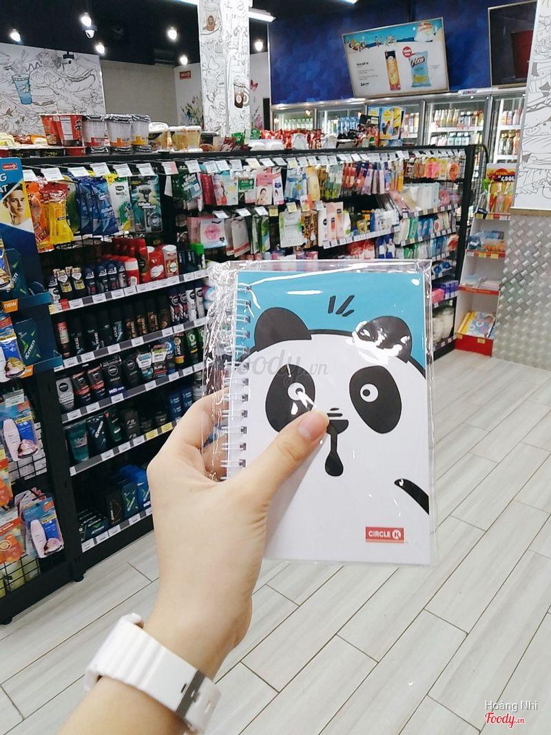 Sổ Tay Panda (Quà tặng kèm không có bán)