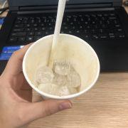 Được đồng nghiệp order cho ly cafe muối. Cafe ngon hợp với vị mặn mặn của kem sữa. Nếu được thì nên cho thêm nhiều kem sữa một chút 😂😂