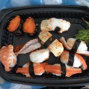 Đây là sushi khi mình nhận được