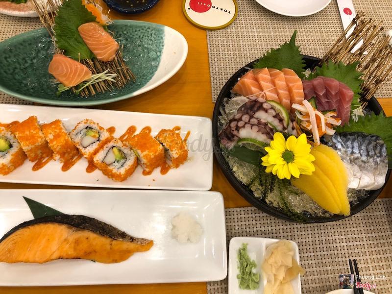 Set sashimi A