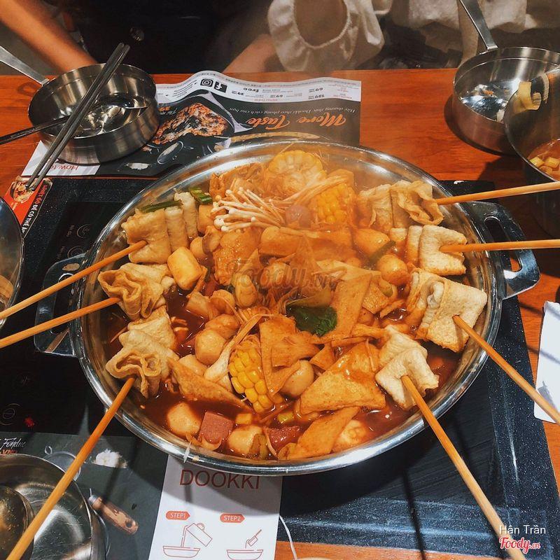 Dookki Việt Nam - Lẩu & Buffet Tokpokki - Times City ở Quận Hai Bà Trưng,  Hà Nội | Bình luận - Dookki Việt Nam - Lẩu & Buffet Tokpokki - Times City |