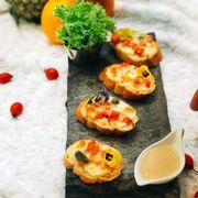 Bánh mì phô mai hải sản