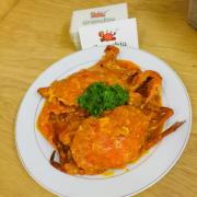 Cua Thịt 450gr 1 em . Sốt Ớt Singapore free nhen .