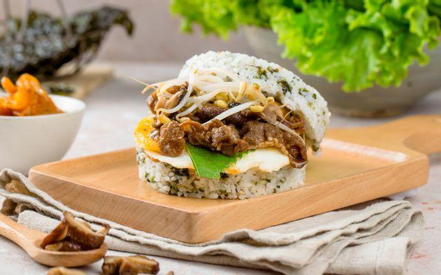 Cơm Burger - Đình Thôn
