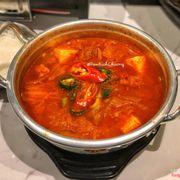 Soup kim chi