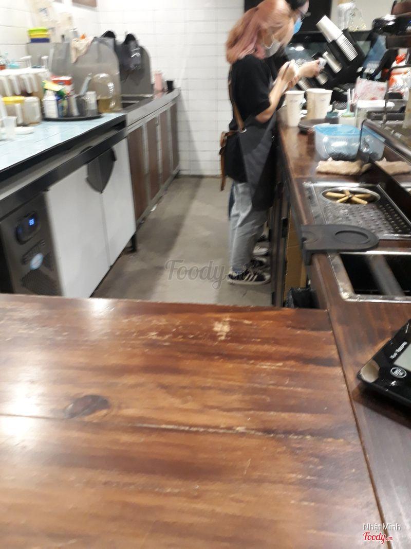 Quầy barista
