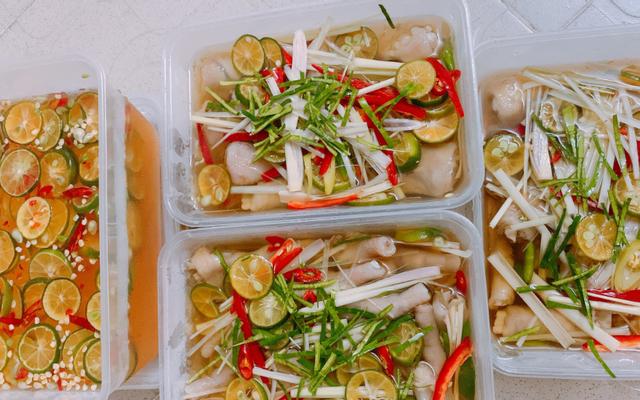 Ăn Vặt Thảo Mai - Chân Gà Sả Tắc - Shop Online