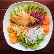 salad gà mix