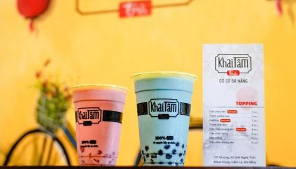 Khai Tâm Trà - Trà Sữa