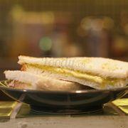 Bánh mì Hải Nam***dé lá dứa - Kaya toast