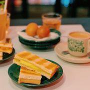 bánh mì kaya toast