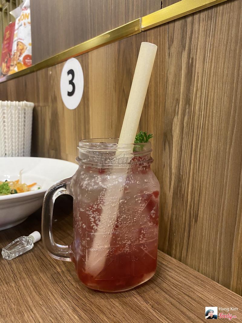 Soda dâu rừng