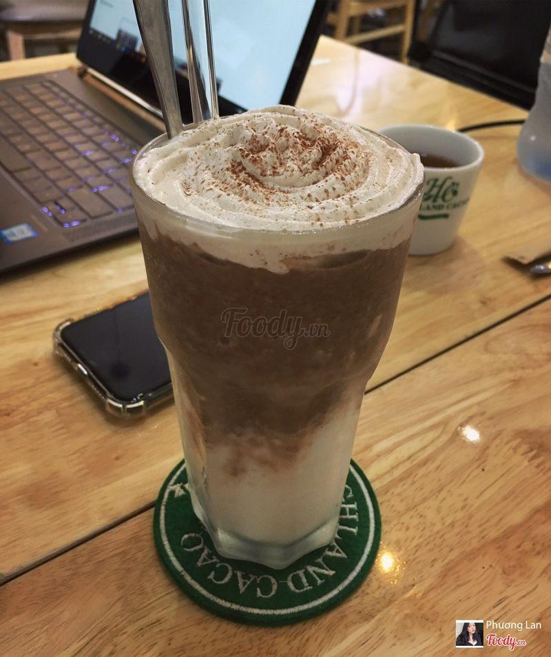 Cacao cốt dừa đá xay