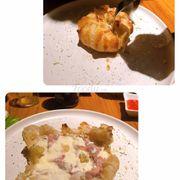 Truffle Burrata Pie with Parma Ham