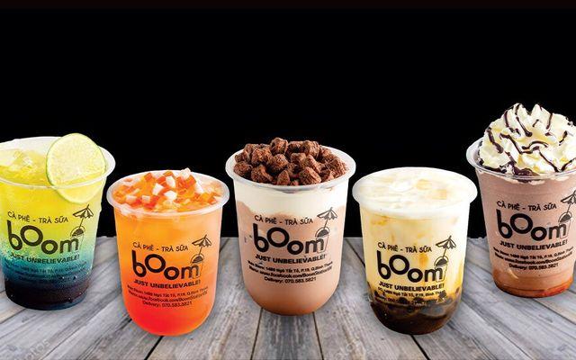 Boom - Cà Phê & Trà Sữa - Sữa Tươi Trân Châu Đường Đen - Đỗ Xuân Hợp