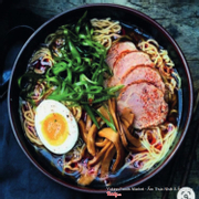 Healthy Japanese Shoyu Ramen	 No hormones, chemicals or preservatives; Homemade broth from 12+ ingredients; Slowly marinated over 3 days to create rich flavor