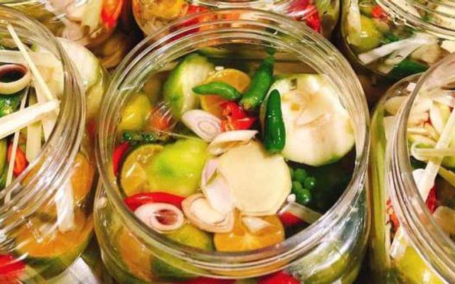 Yumi Ăn Vặt - Chân Gà Sả Tắc, Bánh Tráng & Cơm Cháy - Shop Online - Hoa Cau