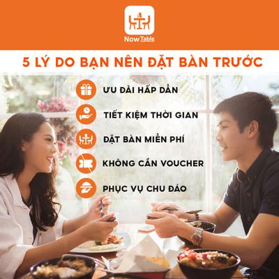 5 Lý Do Nên Đặt Bàn Trước Khi Đến Nhà Hàng (Quán ăn)