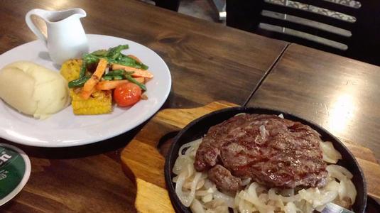 Sizzling Steak chảo nóng 300gr