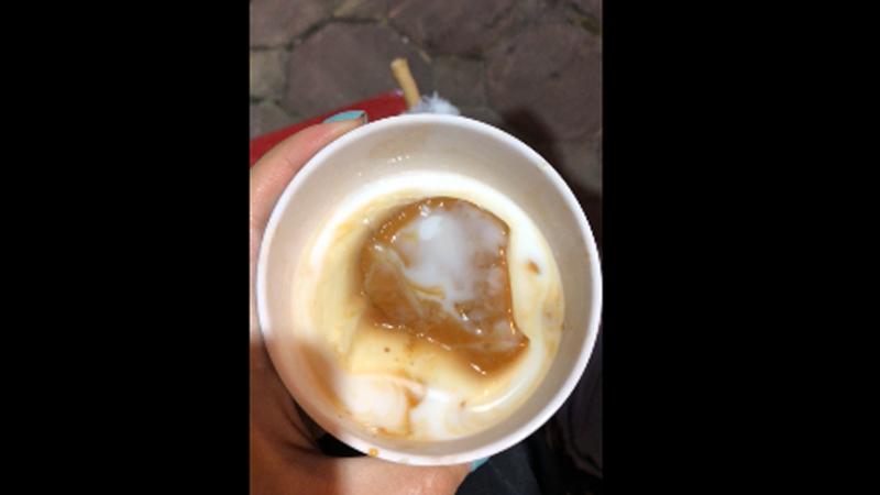 Ăn được kem dừa chạy 3 quãng đồngg 🤣