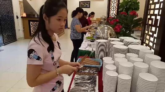 Buffet Chay ở Nhà hàng Chay Tâm Sen khá ngon !