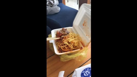 Mỳ ý thịt nướng