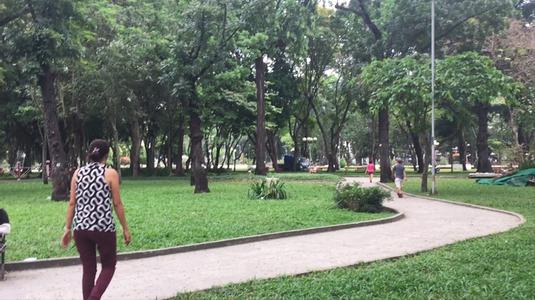 Công viên rộng thoáng mát